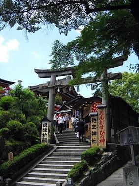京都で恋愛運がアップするおすすめ神社 地主神社