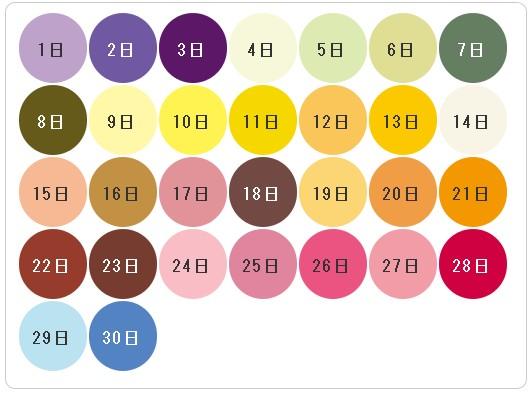 無料 誕生色診断!誕生日からわかるあなたの色