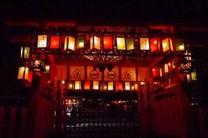 京都芸能のパワースポット 車折神社