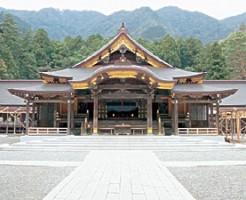 新潟県内最大級パワースポット 弥彦神社