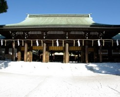関東パワースポットの定番、明治神宮